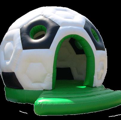 springkussen huren voetbal